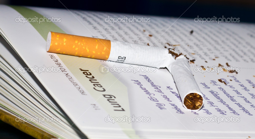 Smoking and cancer — Stock Photo #8287131