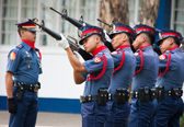 Philippine National Police-25th anniversary — Stock Photo