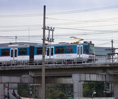 Manila Metro Rail Transit System — Stock Photo
