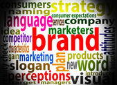 Brand marketing — Stock Photo