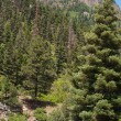 Twin Peaks, Ouray, Colorado - Stock Photo