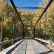 Black Bridge near Paonia, Colorado — Stock Photo
