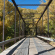 Black Bridge near Paonia, Colorado — Stock Photo #8348596