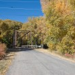 Black Bridge near Paonia, Colorado — Stock Photo #8349613