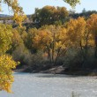 Stock Photo: Autumn on Colorado River