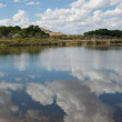Cloud Reflections in still lake — Stock Photo #8433708