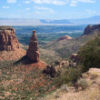 Independence Monument Colorado National Monument — Stock Photo