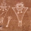 Archaic Petroglyphs — Stock Photo