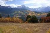 Ridgway Valley in Autumn — Stock Photo