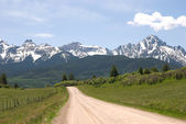 Road to the San Juans — Stock Photo