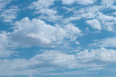 Summer Fair Weather Skyscape — Stock Photo