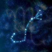 Scorpio constellation and symbol — Stock Photo