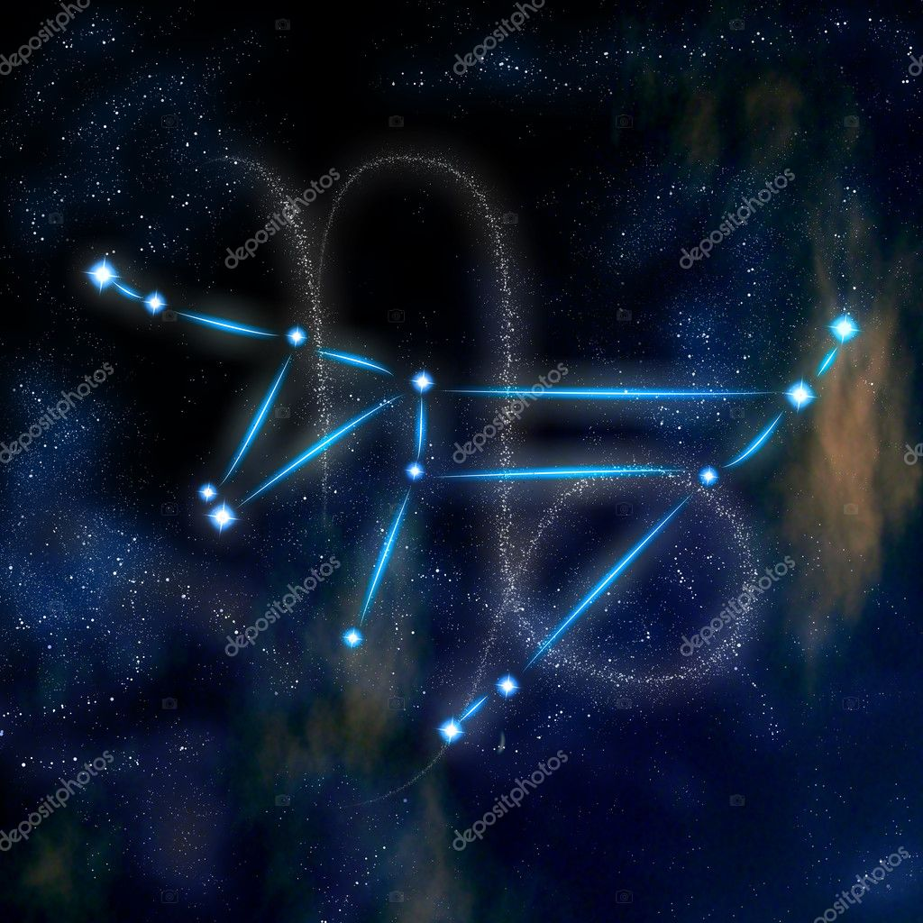 Zodiacal constellation and symbol - Capricorn  — Stock Photo #8745067