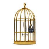 Cage pour oiseaux — Photo