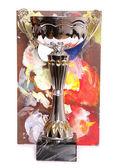 Trofeo con tablero del arte — Foto de Stock
