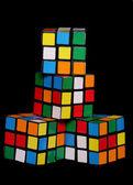 Rubix cube mini models — Stock Photo