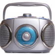 Retro music Radio ghetto blaster - 图库照片