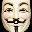 Stock Photo: Guy fawkes mask