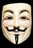 Guy fawkes mask — Stock Photo