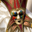 Masquerade ball mask abstract — Stock Photo