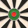 Bullseye of a Dartboard abstract — Stock Photo