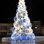 Şehir Noel ağacı — Stok fotoğraf