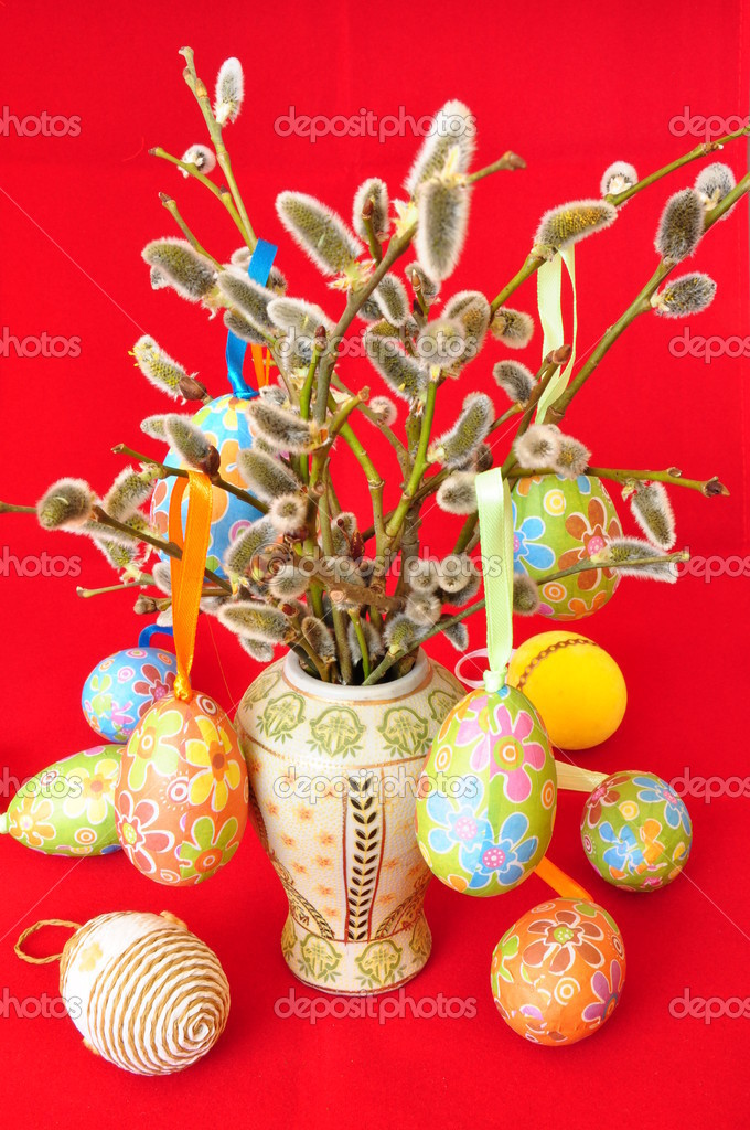 Easter - a spring holiday of all Christians — Stock Photo #9884142