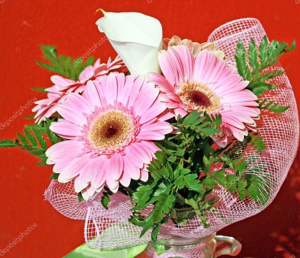 Bouquet de fleurs pour un anniversaire photographie for Bouquet de fleurs pour un homme