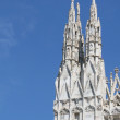 Detail of spires of famous duomo of Milan — Stock Photo #10040819