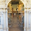 Interior of Teatro Olimpico in Vicenza — Stock Photo #10041031