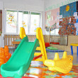 Interior of a playroom a nursery kindergarten school - Stock Photo