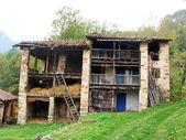 Opuštěné stodoly — Stock fotografie