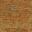 Red bricks in a medieval tower in Vicenza - Foto Stock