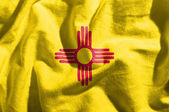 Flag of new mexico — Stock Photo