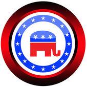 Pulsante repubblicano — Foto Stock