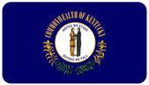 Bandeira de kentucky — Fotografia Stock