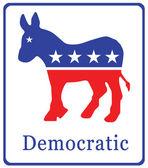 Demokratik afiş — Stok fotoğraf