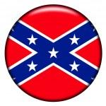 Confederate button — Stock Photo #9385251