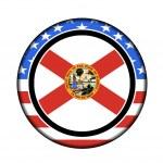 America florida button — Stock Photo #9388099