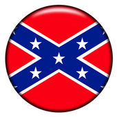 Confederate button — Stock Photo