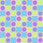 Seamless citrus pattern — Stock Vector
