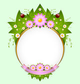 Spring decoration — Stock Vector