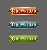Download buttons — Vettoriale Stock