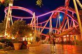 Blue Hour & Tivoli Gardens — Stock Photo