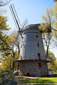 Old English type windmill — Stock Photo