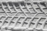 Winter tire pattern — Stock Photo