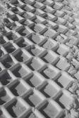 Winter tire pattern — Stock Photo
