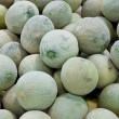Honeydew melons raw background — Stock Photo