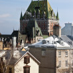 Quebec style — Stock Photo