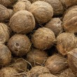 Coconuts raw background — Stock Photo #9452650